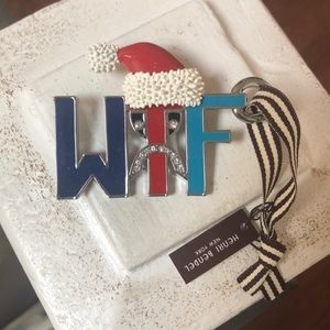 Why the Frown Henri Bendel ornament NWT
